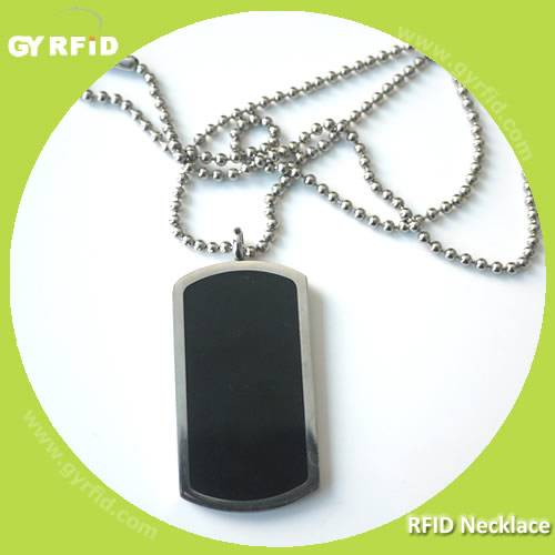High quality NFC Necklace with NTAG203 chip (GYRFID)