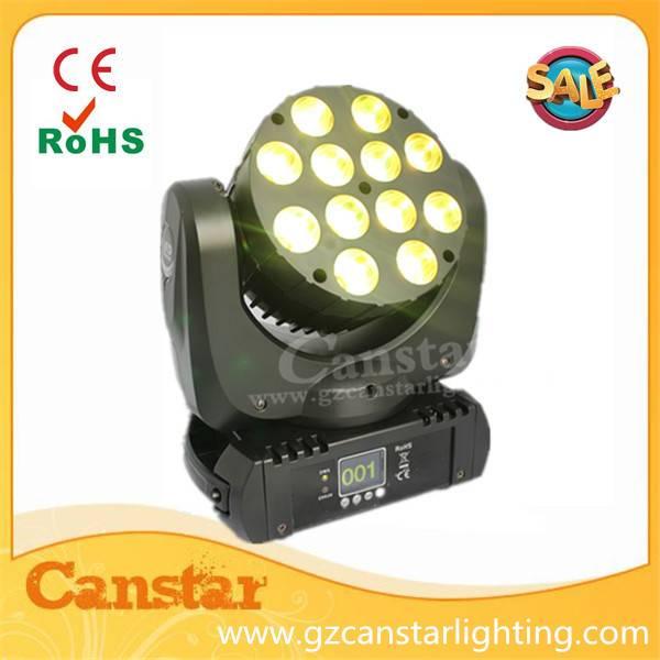 12X10w led rgbw Beam Wash Pro Light Moving Heads