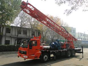 truck mounted water well drilling rig BZC350ZY