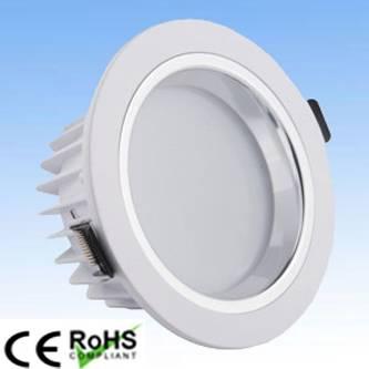 led white color downlight