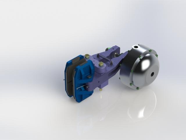 Disc Brake Caliper KEST Pneumatic brake