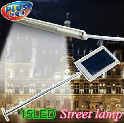 Outdoor Lighting Solar Street Light Garden Pathway Wall Lamp LED Spotlights Solar Powered Panel Ligh