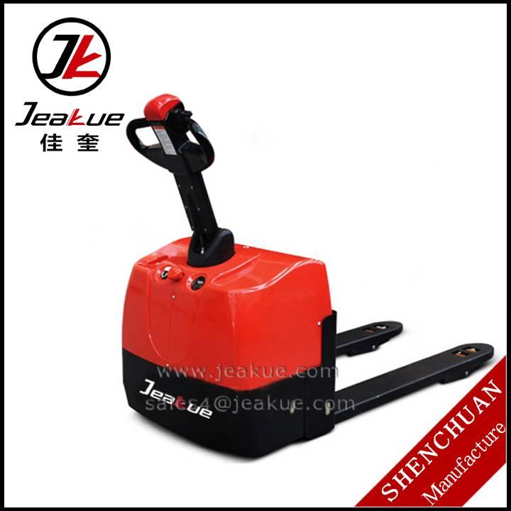 Hot sale 1.3T Walking Type Mini Electric Pallet Truck