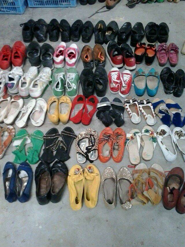 export used shoes