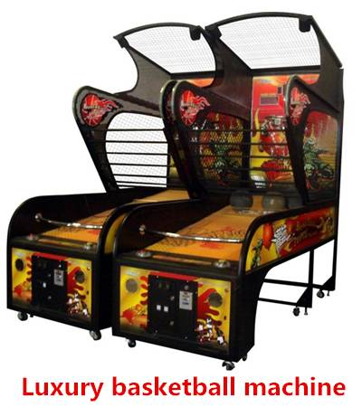 Coin Operated Amusement Park Arcade Basketball Game Lottery Machine Luxury basketball machine