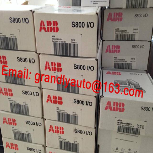ABB AO845A Analog Output Redundant Module in stock