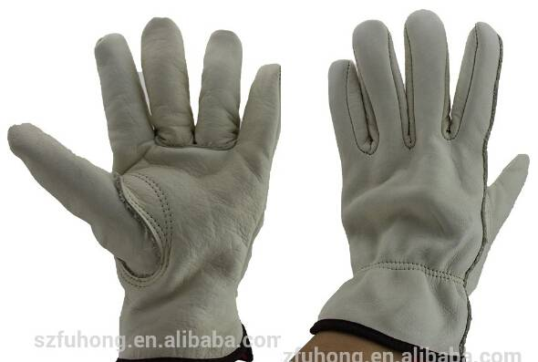Super quality unique industry mens leather gloves
