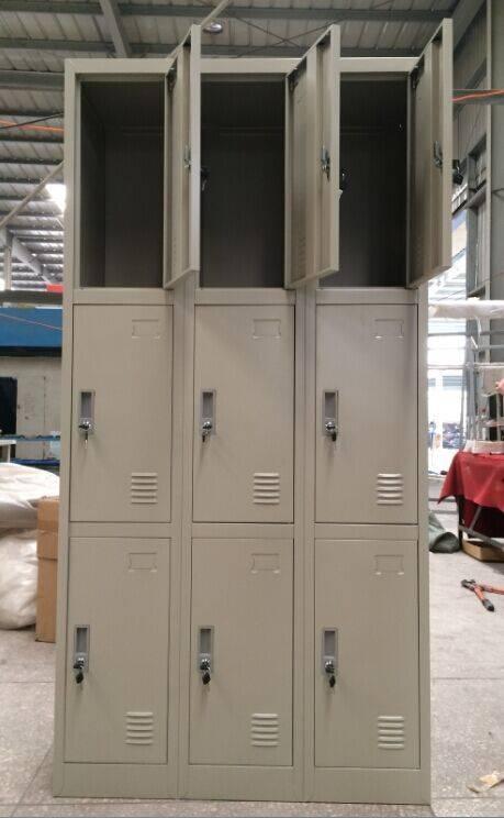 Hot Sale Nine door Clothes Cabinet