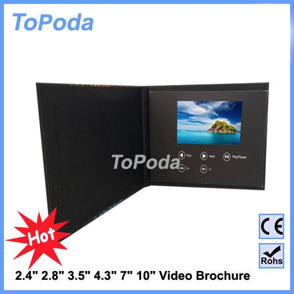 new products lcd video business card