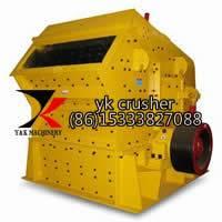 Impact Crusher with Large Capacity in Stone Crushing