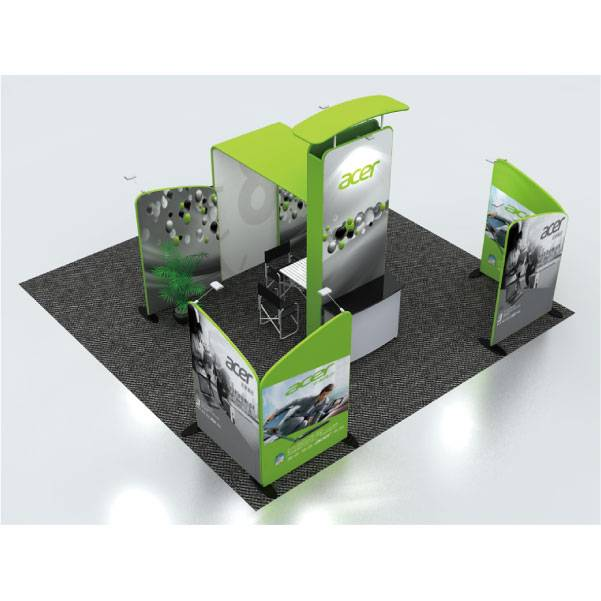 Tension Fabric Exhibition Booth MA-6x6-006