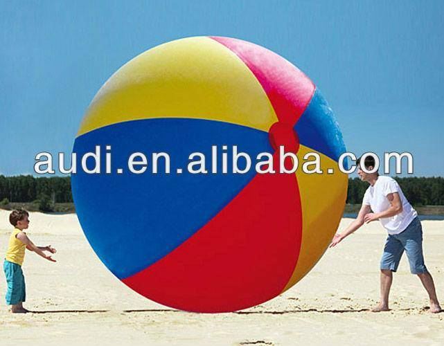 Massive 10' Inflatable Beach Ball,toy ball