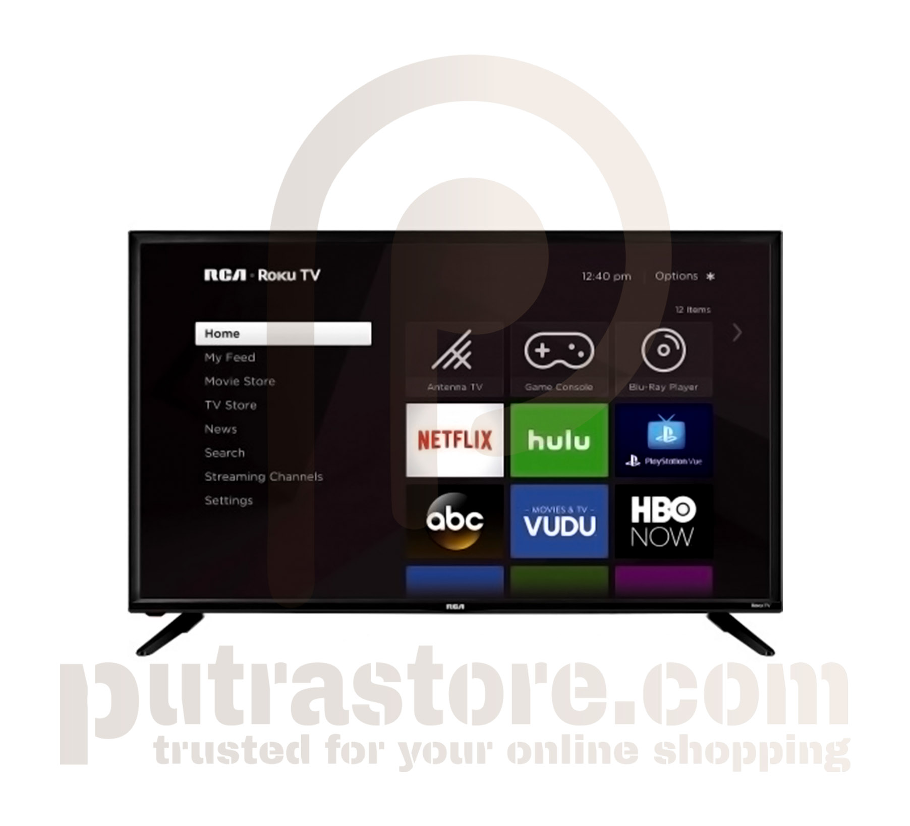 """RCA 40"""" LED HD Roku Smart TV"""