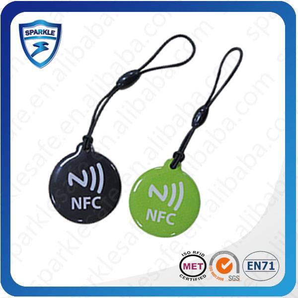 Smart long distance NFC RFID tag