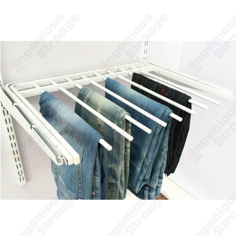 Classic Wardrobe Gliding Pant Racks