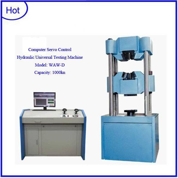 WAW-1000D Computer servo control hydraulic universal testing machine
