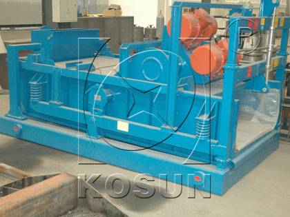 KOSUN shale shaker for HDD system