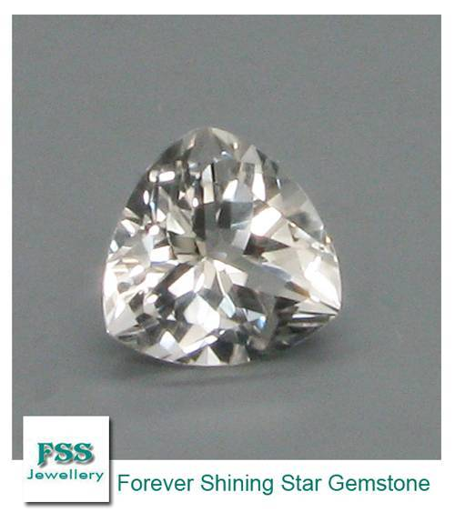 White Topaz AAA Trillion Cut Calibrated Gemstones 7mm7mm