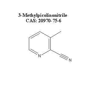 3-Methylpicolinonitrile CAS: 20970-75-6