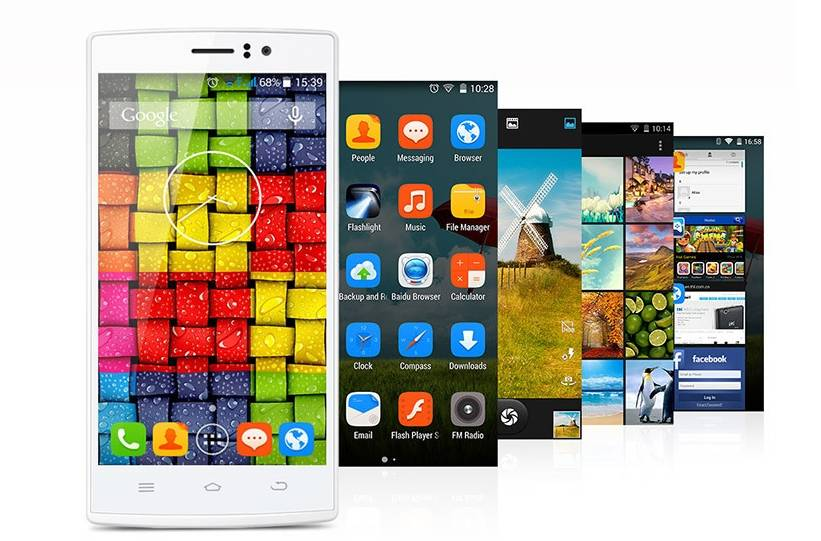 THL l969 5 Inch ips screen MTK6582 Quad Core Android 4.4.2 1GB RAM 8GB ROM Mobile Phones4G FDD