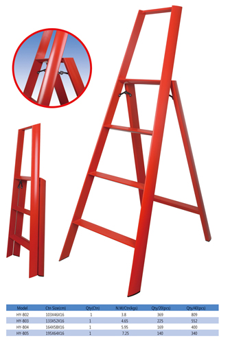 Aluminum Household Ladder Step Ladder Folding