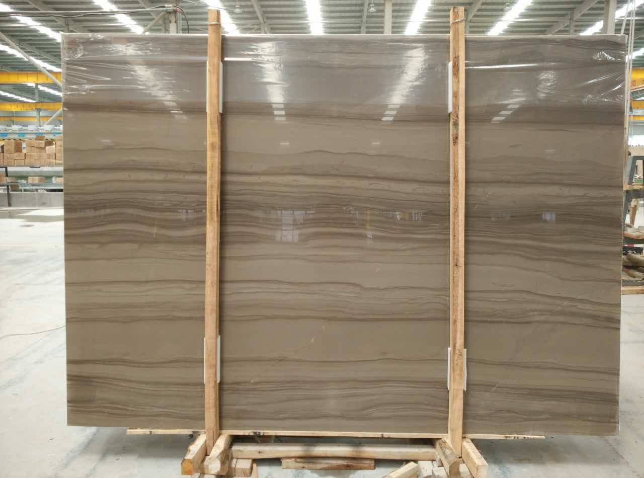 Athen wooden slab natural stone product marble