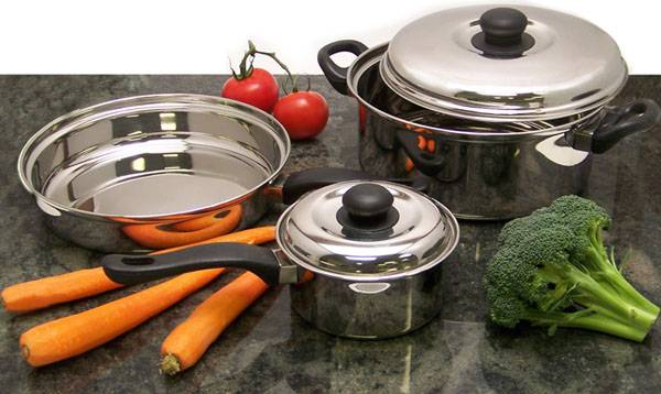 To sell Stainless Steel Kitchenware, Utensils, Cookwares,Steamers, Roasters, Bowls