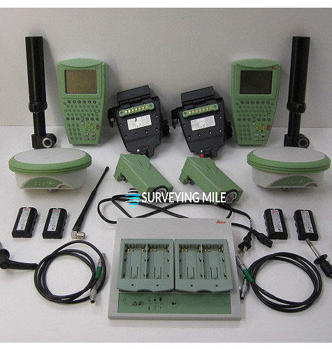Used Leica GPS1200 RX1250X Base and Rover Set