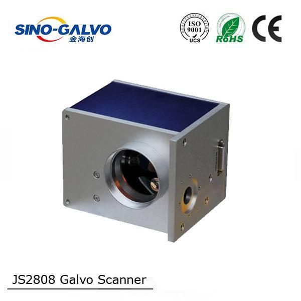 JS2808 CE marked high speed galvo scanner