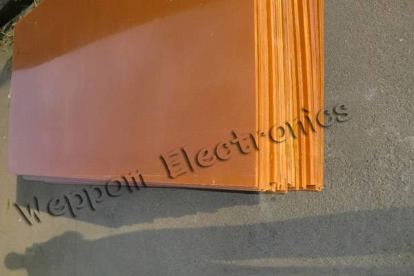 Epoxy phenolic resin sheet