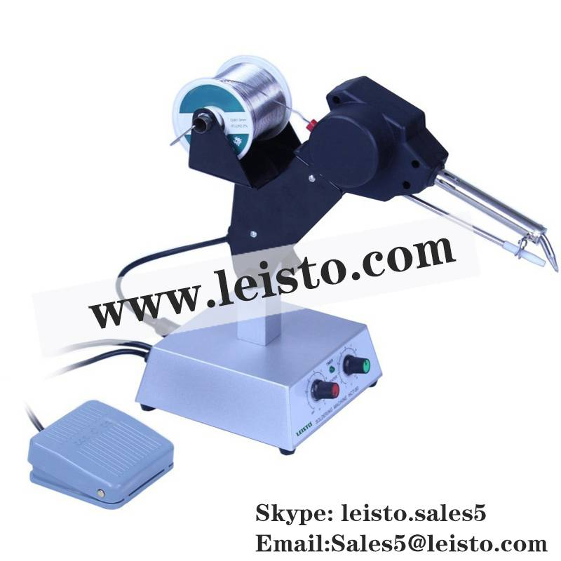 ASG-80 Soldering Gun, Auto Feed Soldering Gun with Pedal
