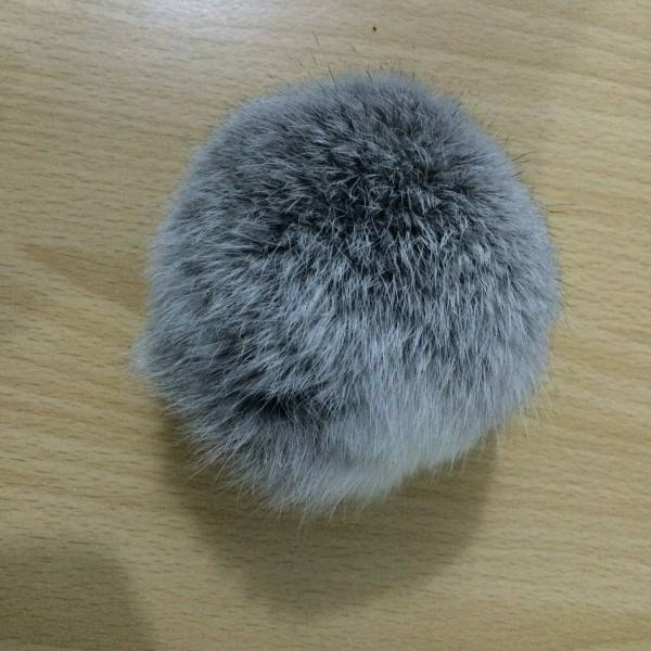 2016 real rex rabbit fur pompom