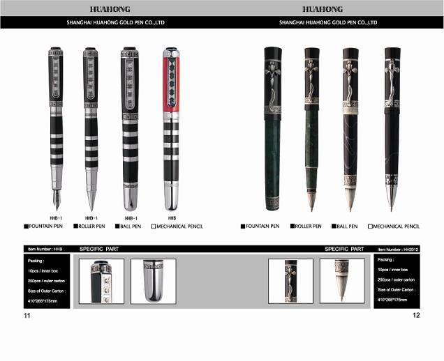 we produce ball pen , roller pen, fountain pen