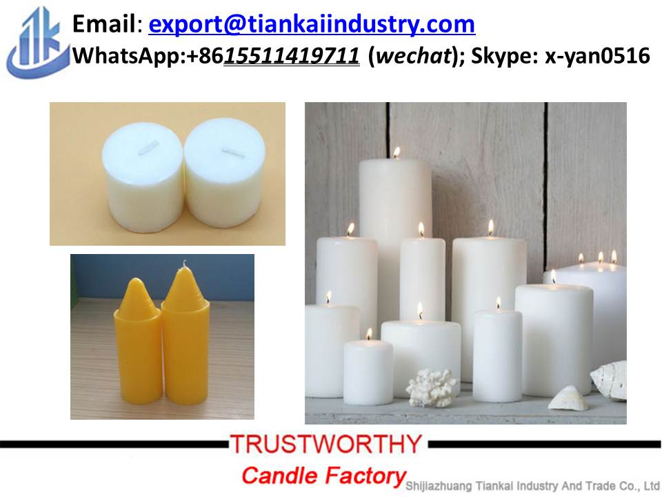 Pillar Shaped Scented Candle Cheap candle price