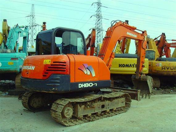 Used Doosan DH80-7 Excavator