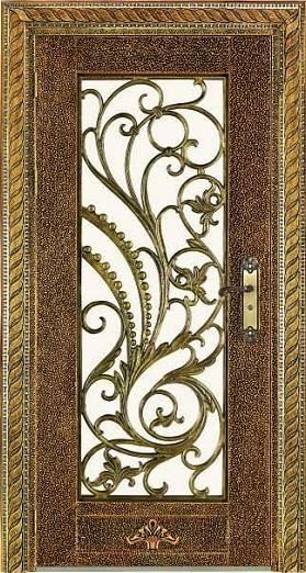 Antique door iron gate designs HL-J48