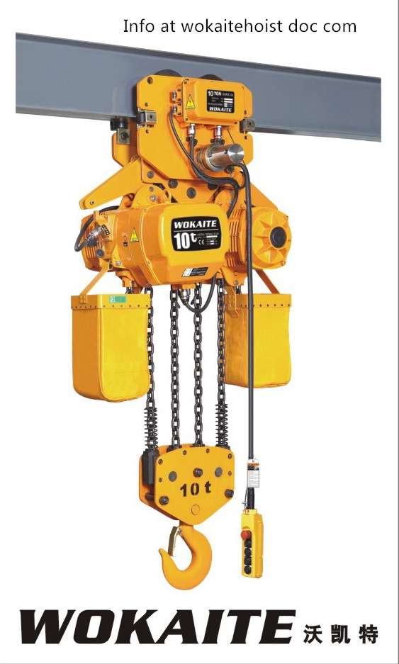 Electric chain hoist with 10T