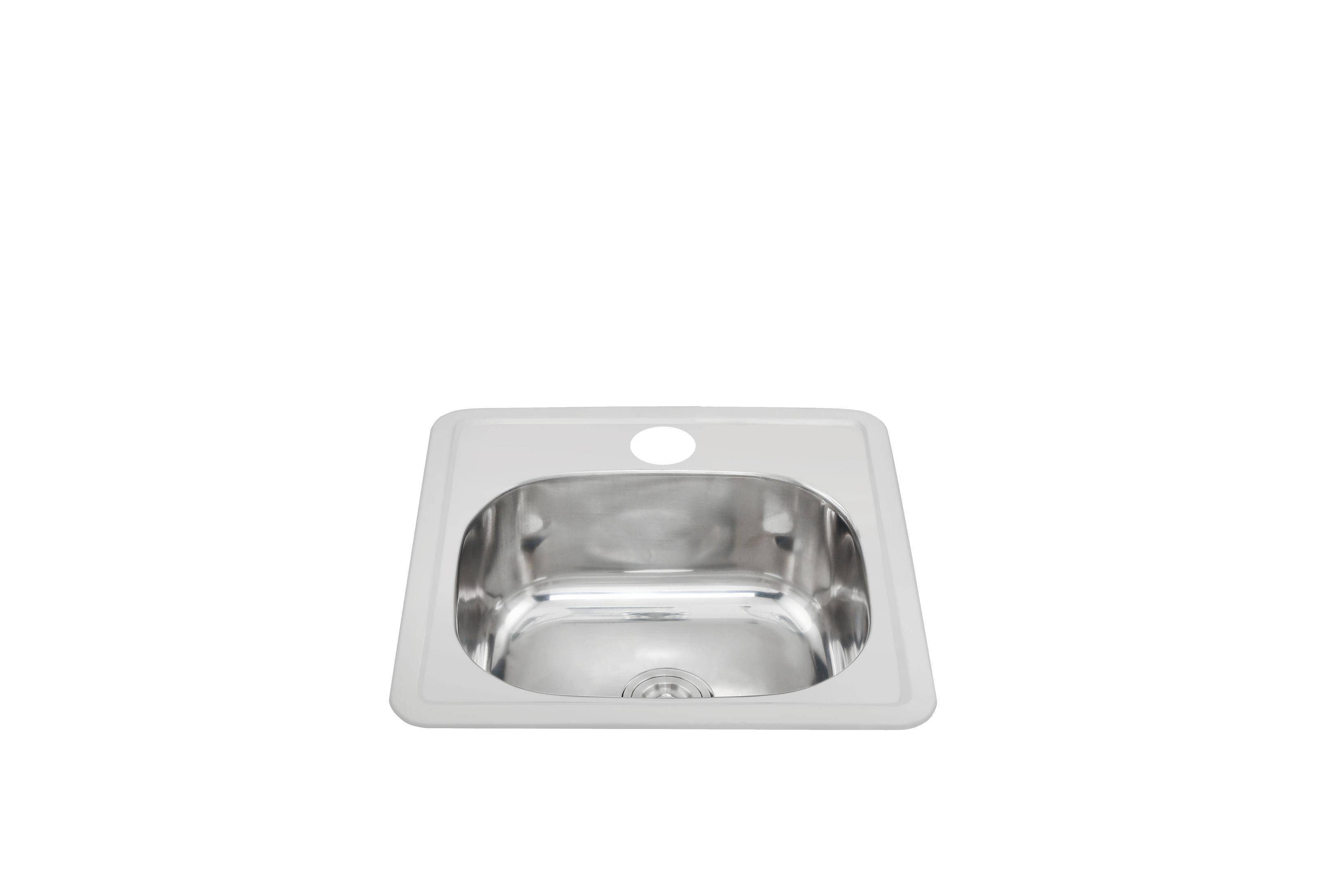 Small size cheap square bowl kitchen sink WY-3838A