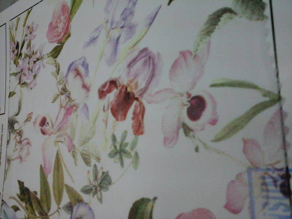 digital print fabric & cotton fabric