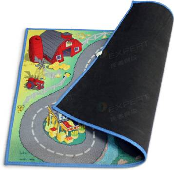 Natural Rubber Material kids play mats foam floor mats