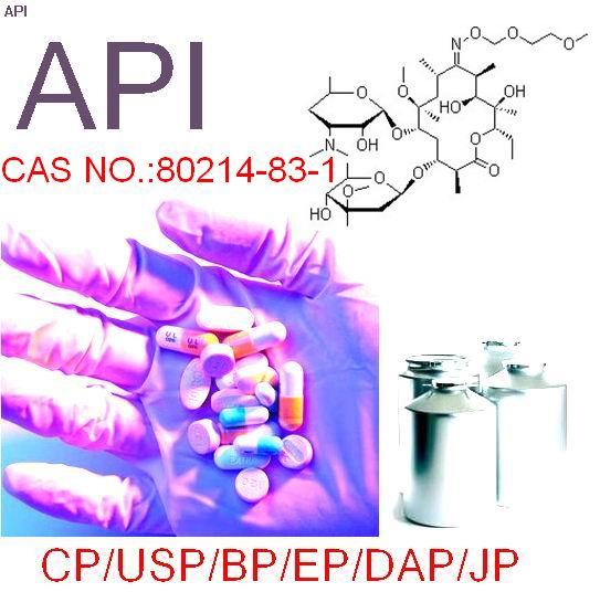 raw material,80214-83-1,Roxithromycin/Antibiotics