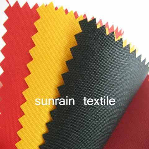 210D,300D,420D,600D Polyester Oxford Fabric PU Coated