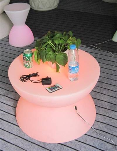 LED LIGHTED FURNITURE TABLE DESK 6040