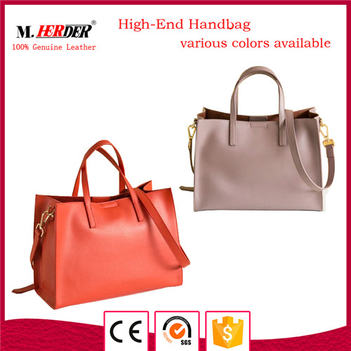 High quality ladies leather handbag MD9049
