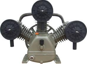 5.5kw 7.5hp 116psi iron cast air compressor motor air piston pump
