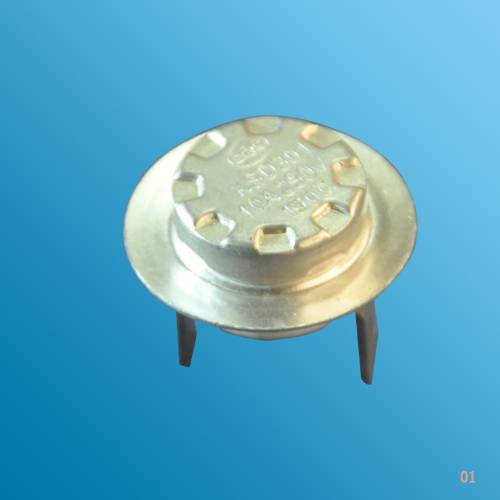 temperature sensitive thermal cutout KSD auto reset thermostat