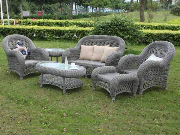 Outdoor Furniture Rattan Garden Set
