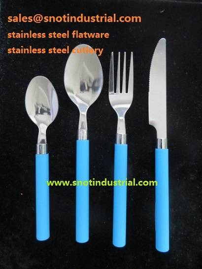 CHEAPEST FLATWARE WITH PP HANDLE ST6720