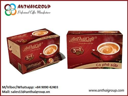 Instant coffee mix 3in1 An Thai Cafe