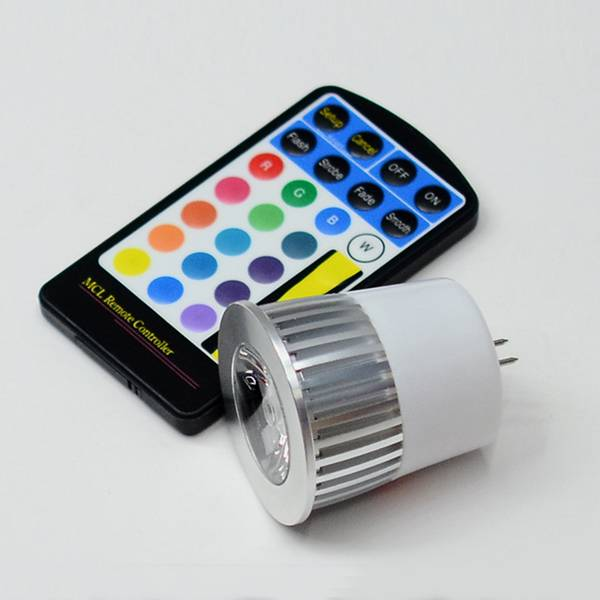5w spotlight spot light led rgb bulb light